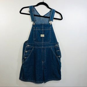Old Navy Overalls Jeans Shorts Size XS Carpenter